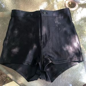 nwot American Apparel high waist spandex short